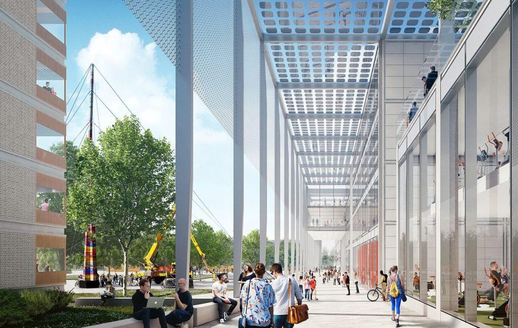 Hopkins MK:U Beeld Malcolm Reading Consultants/Hopkins Architects