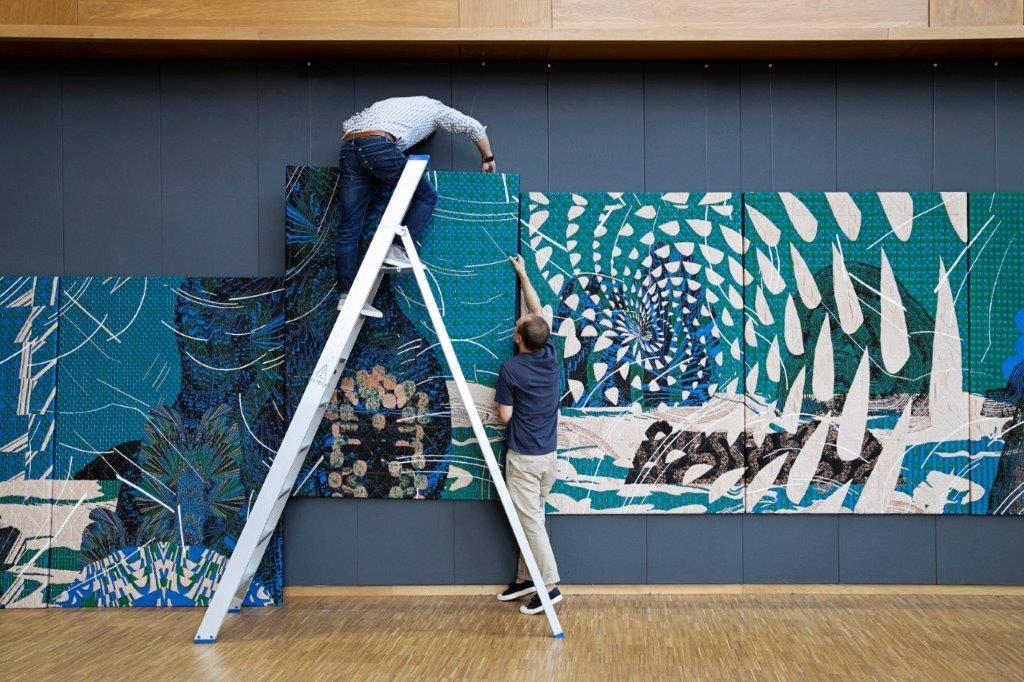 <p>beeld: Josefina Eikenaar in opdracht voor het TextielMuseum   TextielLab</p>