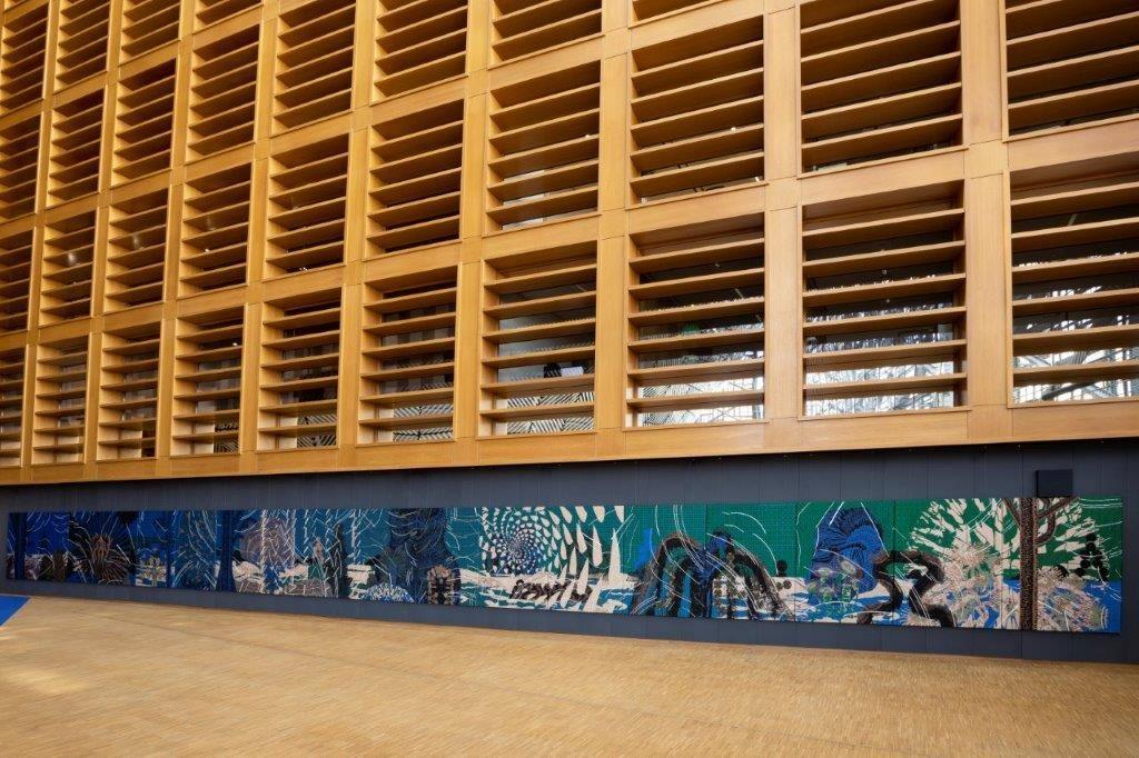 beeld: Josefina Eikenaar in opdracht voor het TextielMuseum | TextielLab