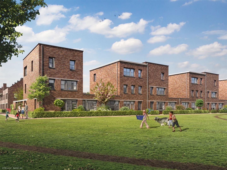 <p>3D-visual Spartahof Apeldoorn &#8211; MTD landschapsarchitecten / Mulleners+Mulleners architecten / Trebbe / BPD</p>