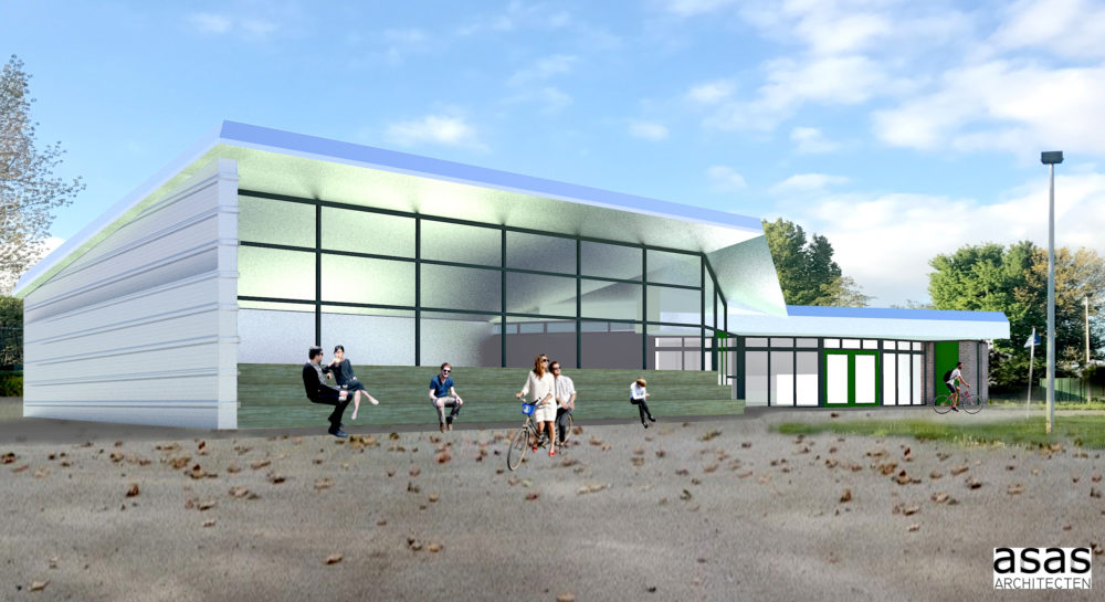 ARC19: Trainingsruimte Wielervereniging RWC Ahoy in Rotterdam – ASAS Architecten