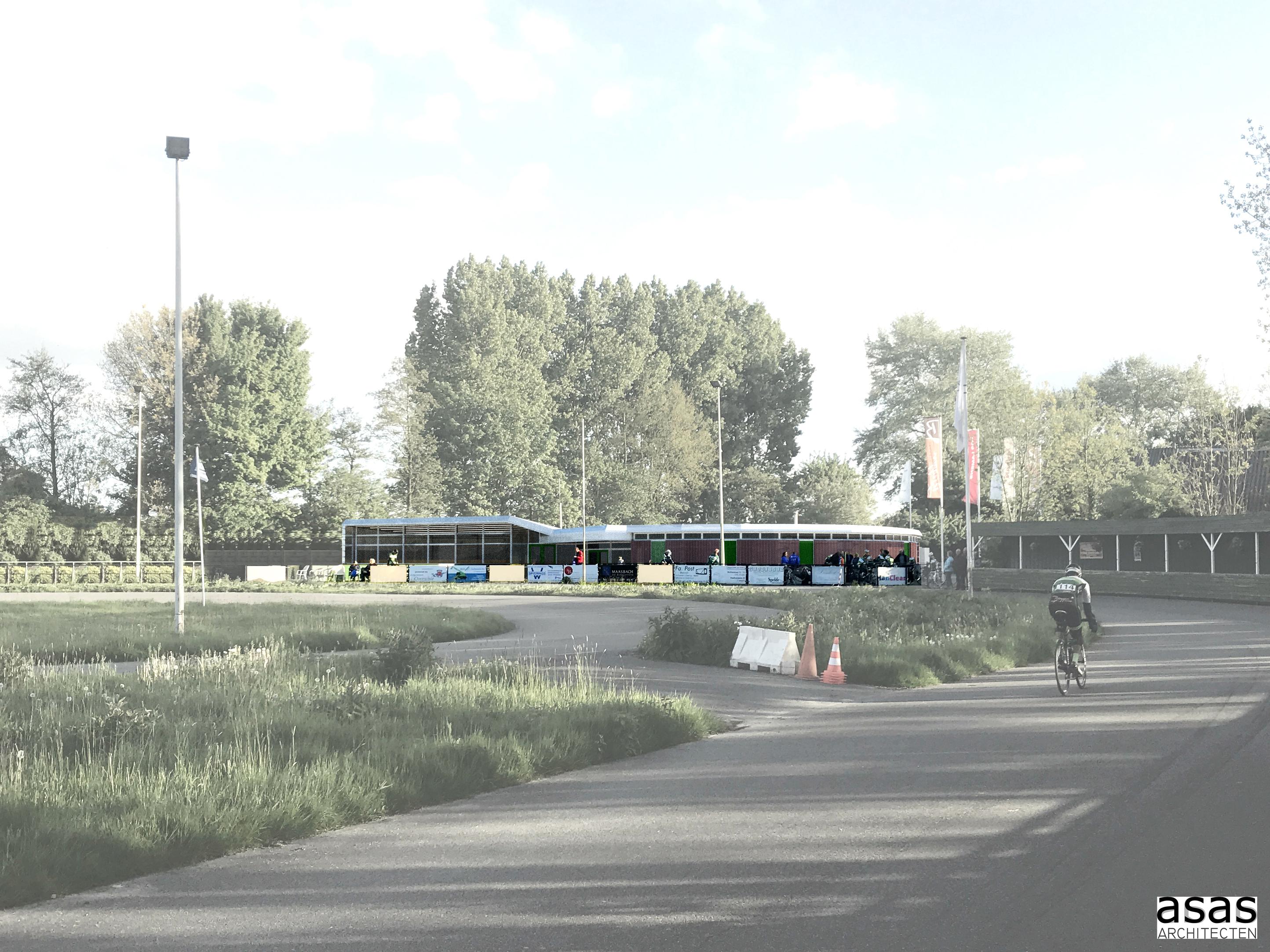 <p>Trainingsruimte RWC Ahoy Rotterdam, ASAS Architecten</p>