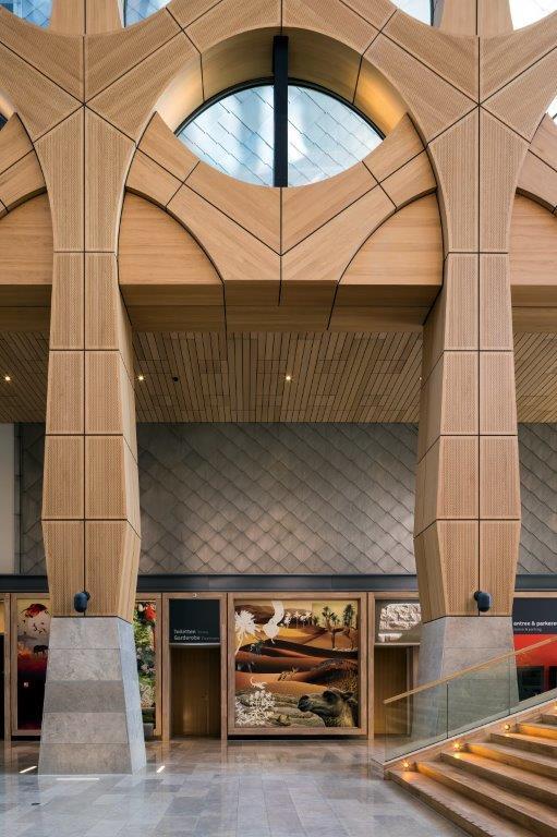 Naturalis Biodiversity Center, Leiden door Neutelings Riedijk Architects. Beeld scagliolabrakkee / © Neutelings Riedijk Architects