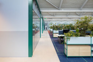 ARC19: Interieur The Core, hoofdkantoor CBRE –  CBRE