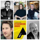 Jury ARC19 Stedenbouw Award stelt zich voor