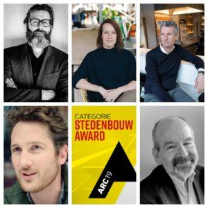 Jury ARC19 Stedenbouw Award