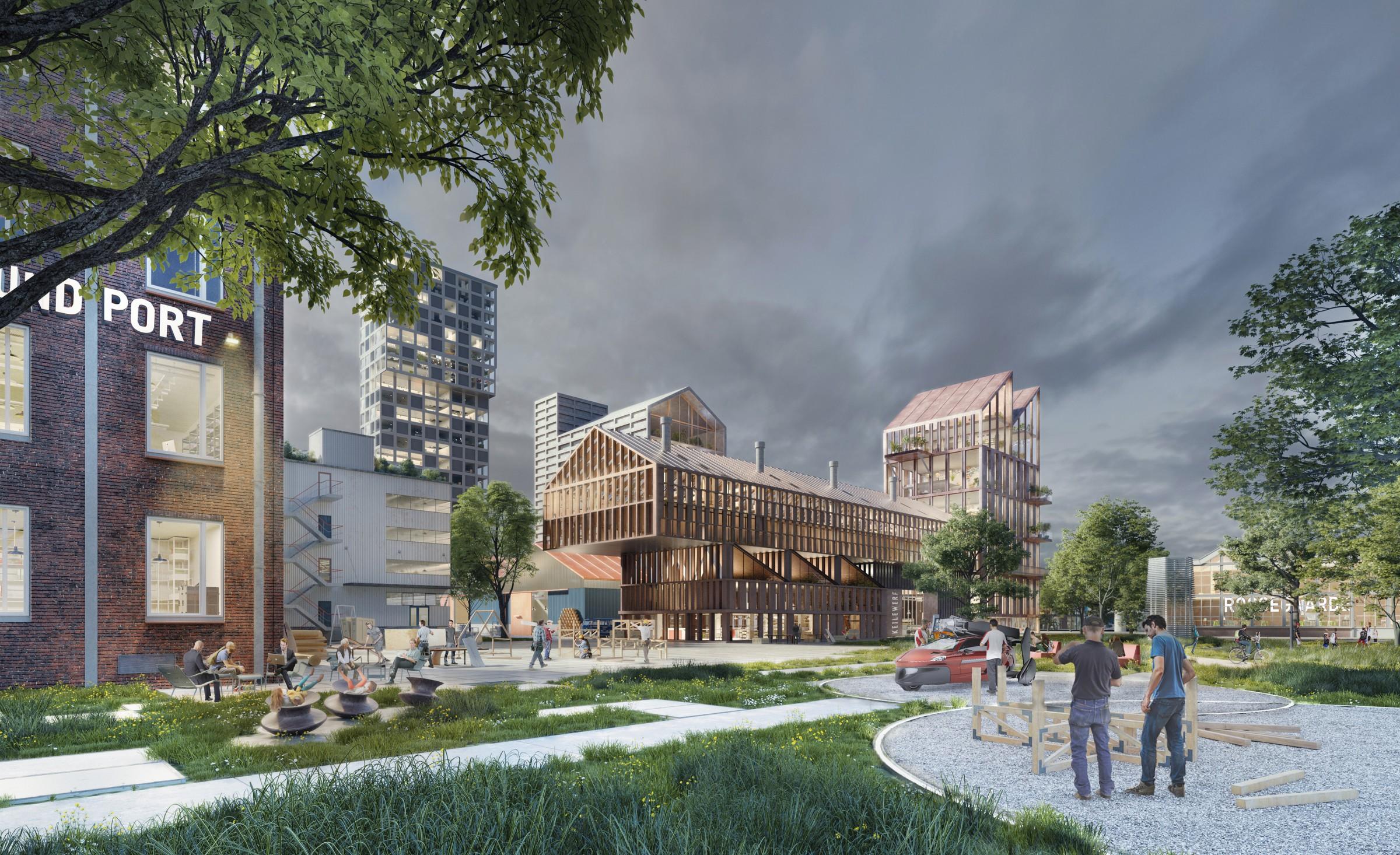 <p>M4H Makershof in M4H &#8211; DELVA Landscape Architects   Urbanism</p>
