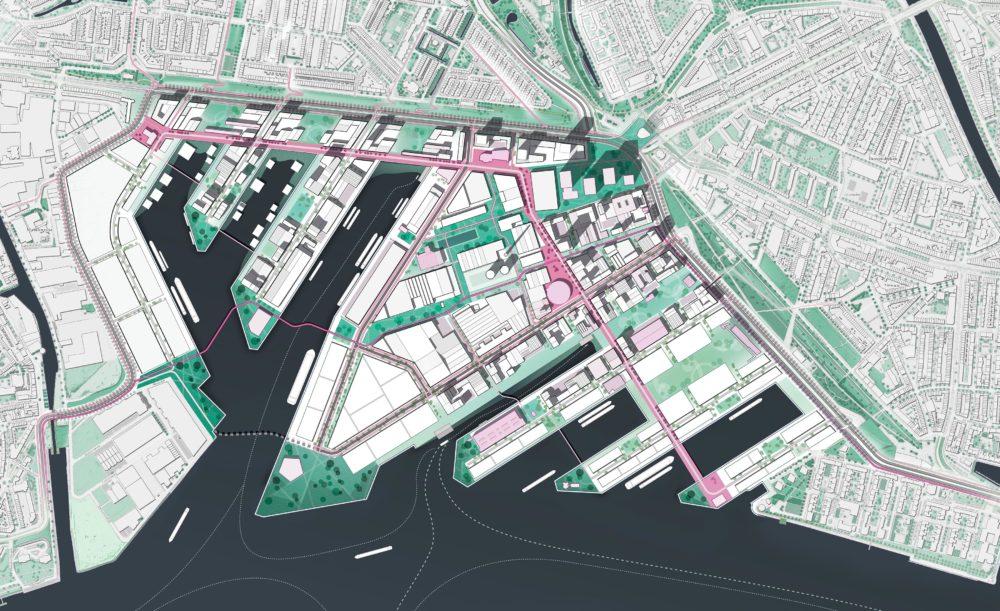 ARC19: Ruimtelijk Raamwerk Merwe-Vierhavens Rotterdam – Gemeente Rotterdam, Havenbedrijf Rotterdam en DELVA Landscape Architecture   Urbanism