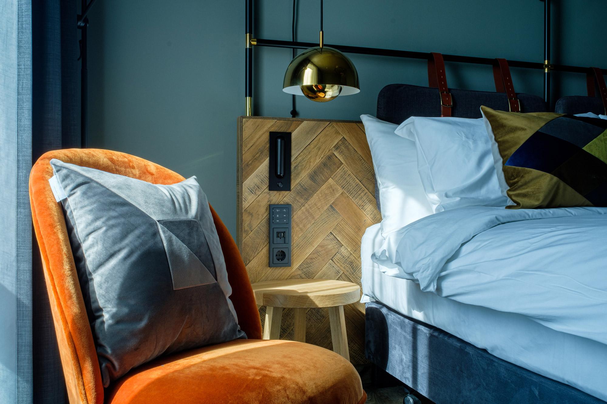 <p>Interieur hotelkamer. Foto: Valentijn Kortekaas</p>