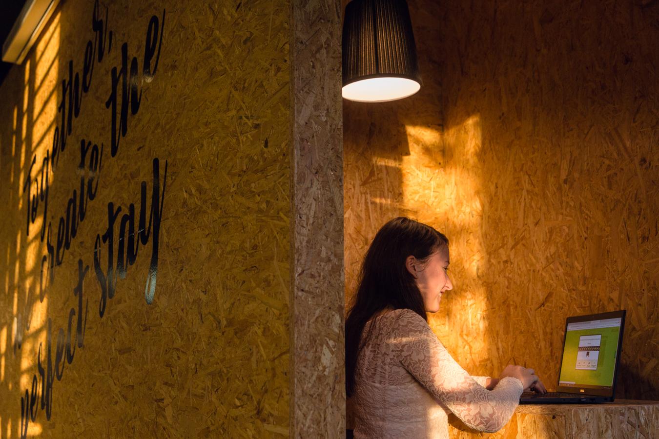 <p>Werkplek foto: HotelSpecials</p>