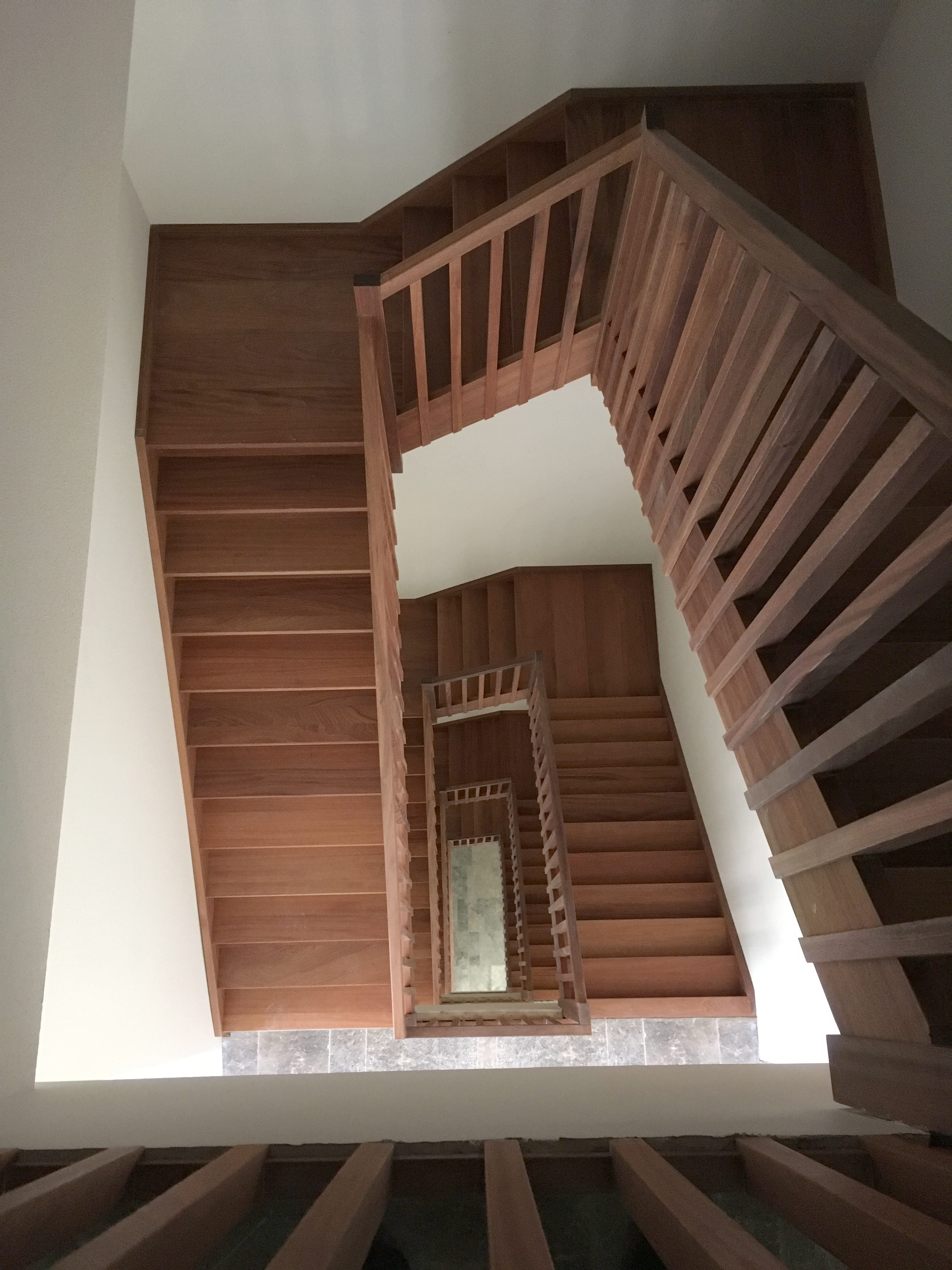 <p>Nieuw trappenhuis. Beeld: JSA</p>