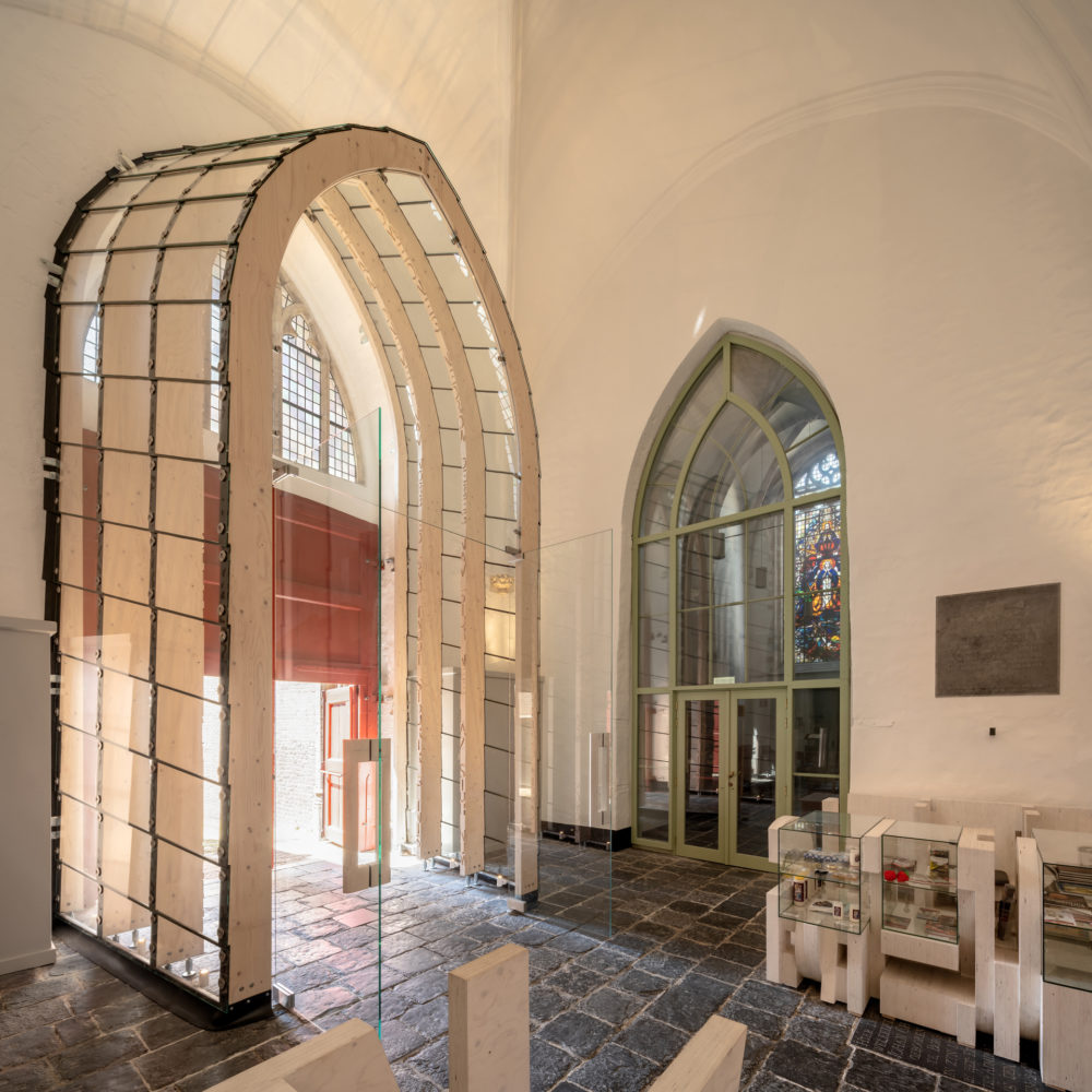 ARC19: Entree Sint Gertrudiskerk Bergen op Zoom – RO&AD Architecten