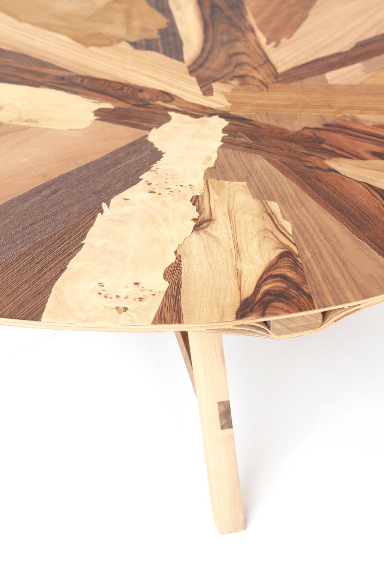 <p>Laminated coffee table, detail. Foto: Studio Jeroen Wand</p>
