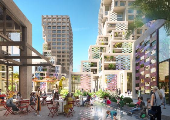Start bouw MVRDV's Pixel in Abu Dhabi's nieuwe Makers District