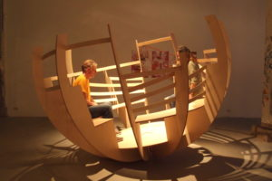 ARC19: Rolling Together – Kunstconstructie