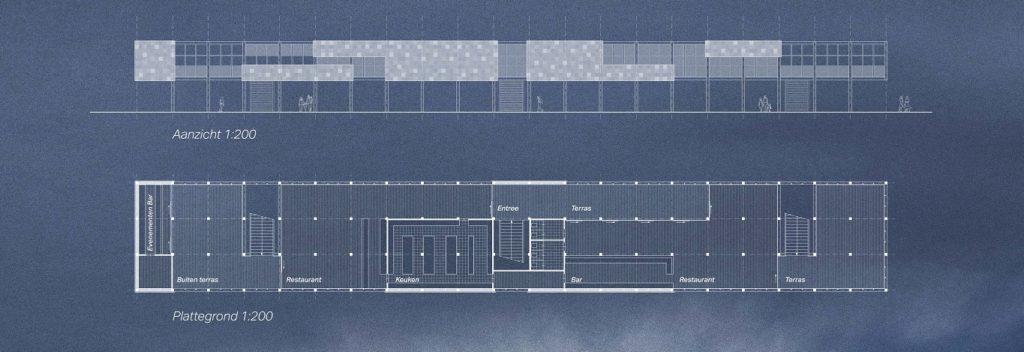Strandpaviljoen Het Jutterhuis door Buro Lubbers