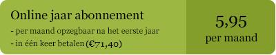 Jaarabonnement op deArchitect.nl - 5,95 euro per maand