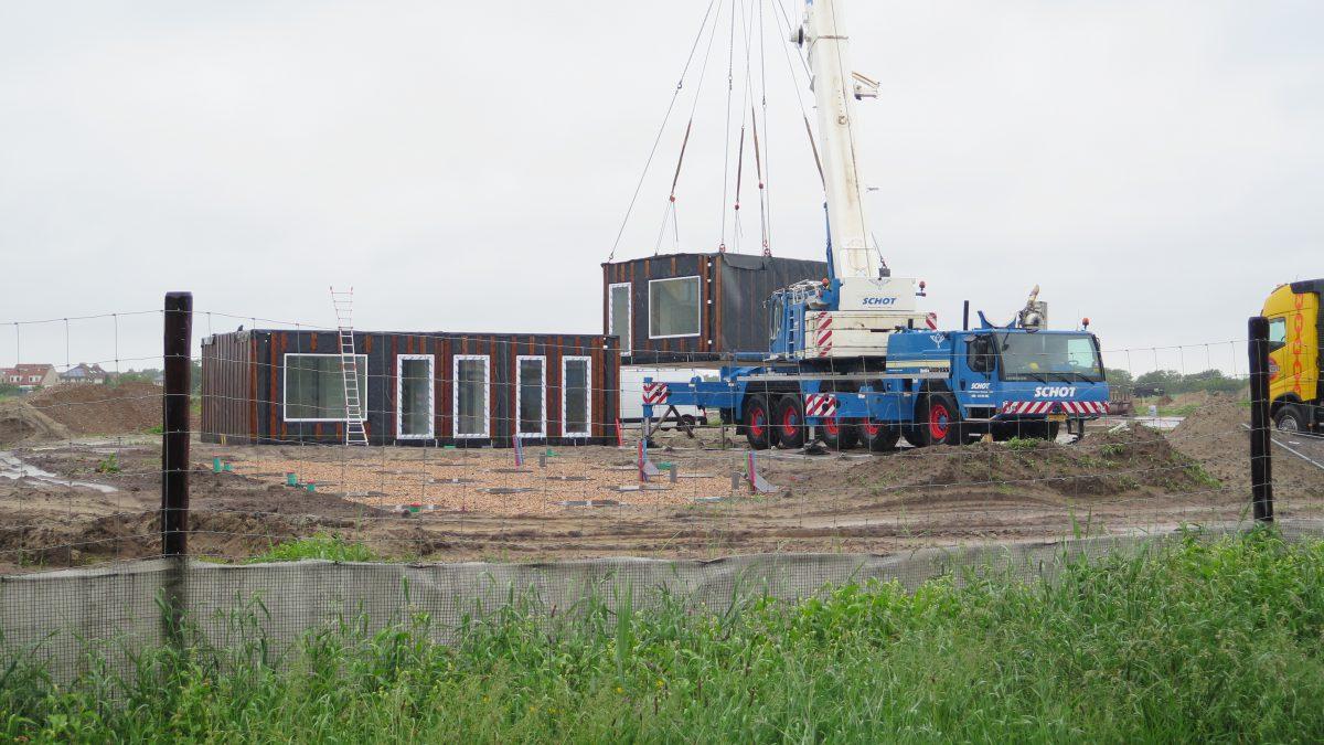 <p>Plaatsing verplaatsbare huurwoningen Buurtskap de Tuunen</p>