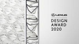 Inschrijven voor Lexus Design Award 2020