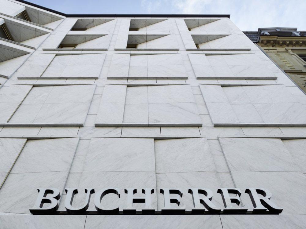 Flagship store Bucherer in Zurich door Office Winhov en Office Haratori