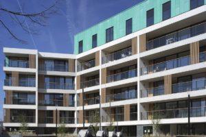 Architecturale zonwering geeft DijleDelta project een unieke look