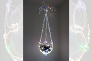 ARC19: Plantenhanger – Light fiber art