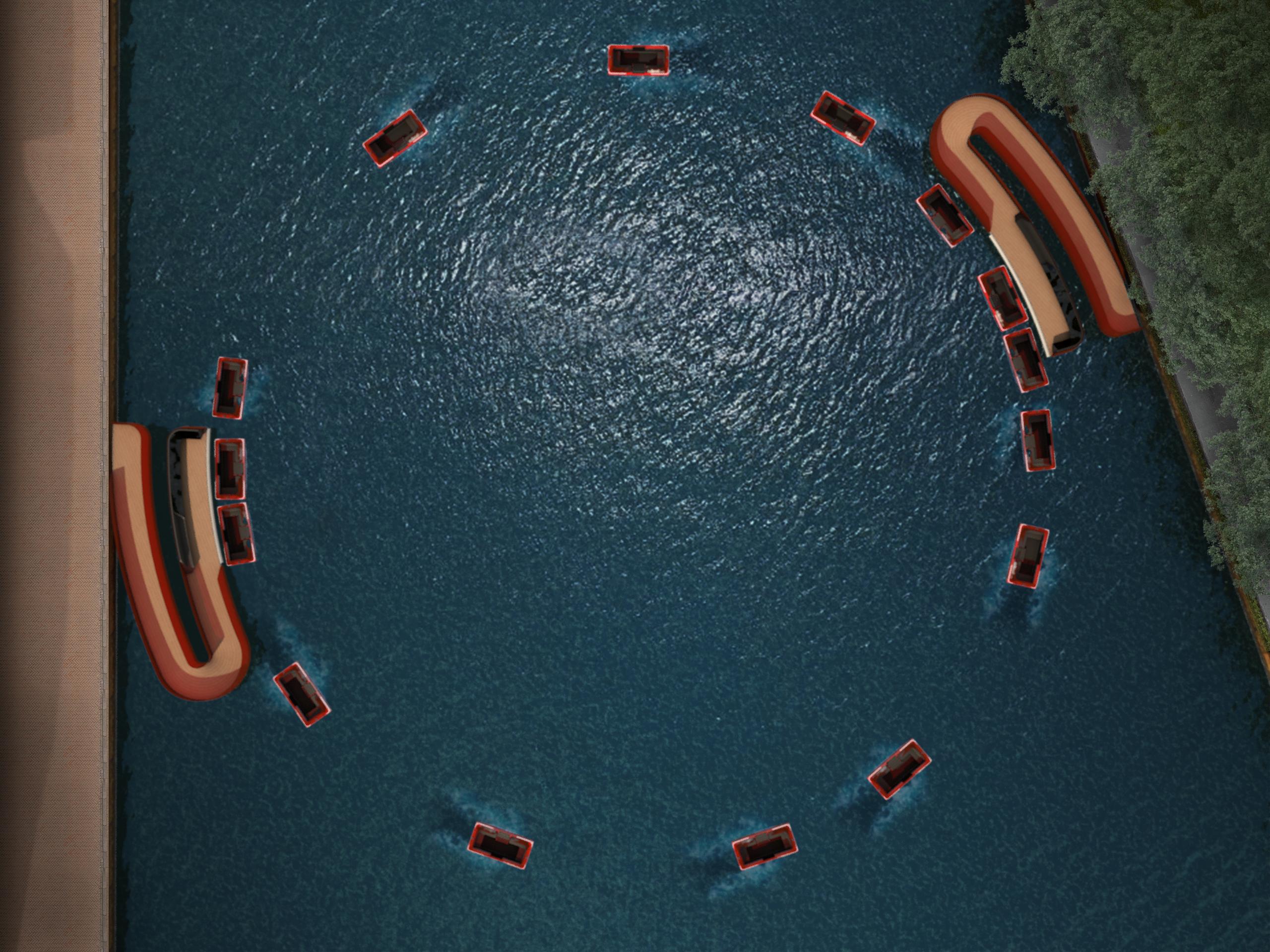 <p>RoundArdound: Zelfvarende &#8216;Roboat units&#8217; verbinden centrum Amsterdam met Marineterrein. Beeld Massachusetts Institute of Technology en Amsterdam Institute for Advanced Metropolitan Solutions</p>