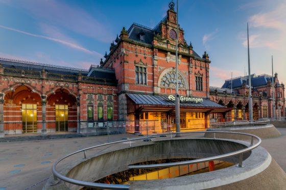 Groningen heeft mooiste station van Nederland