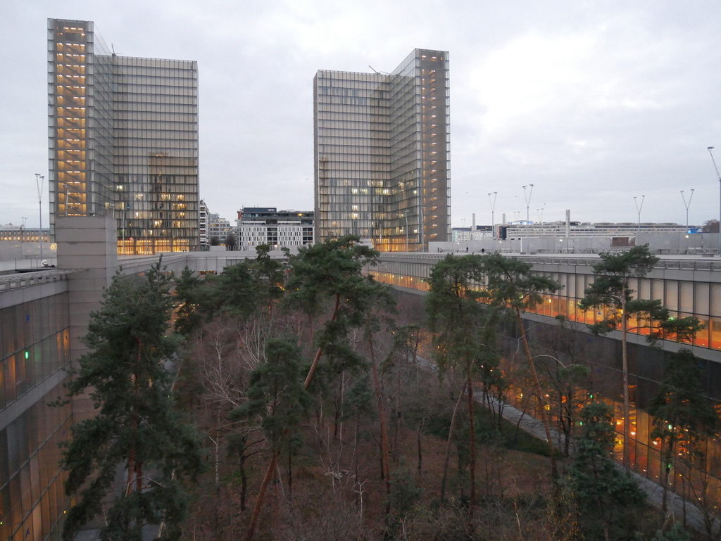 Bos - Bibliotheque Nationale de France, Parijs, FR. Beeld Robbert Guis