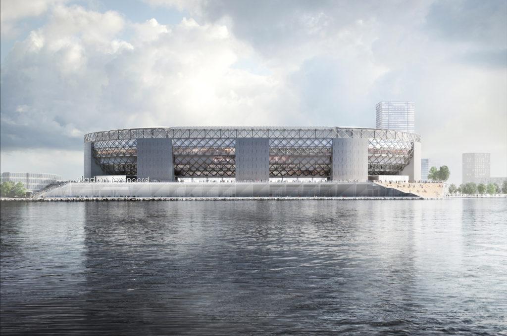 OMA stadion Feyenoord Rotterdam Beeld OMA
