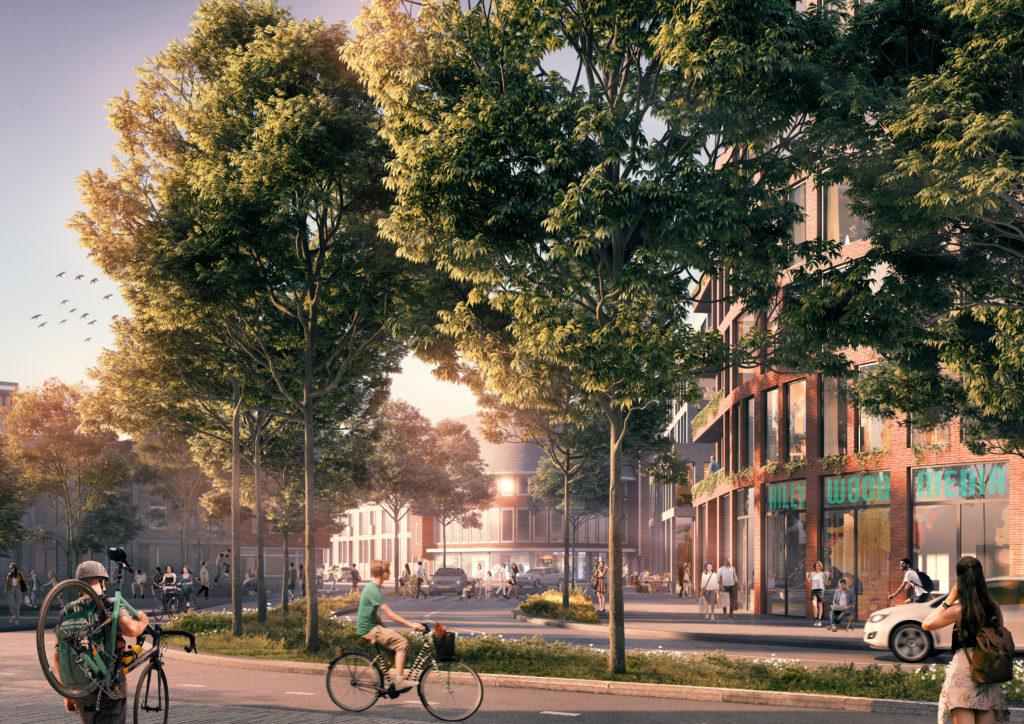Stationsgebied Hilversum door De Zwarte Hond en OKRA