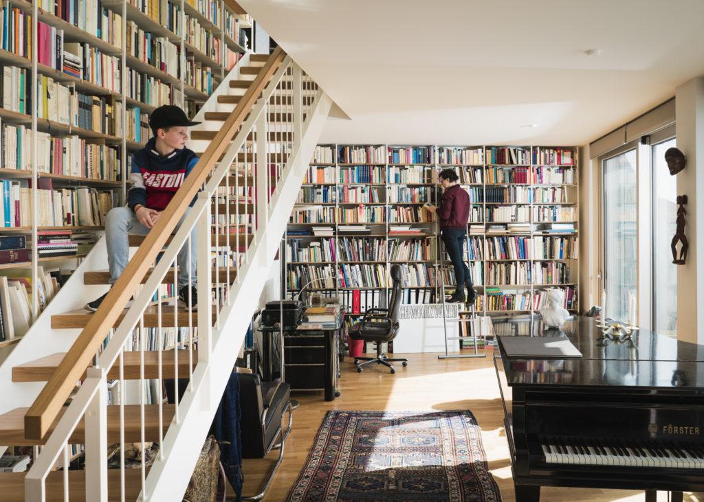 Appartement in het Metropolenhaus Beeld Sebastian Wells