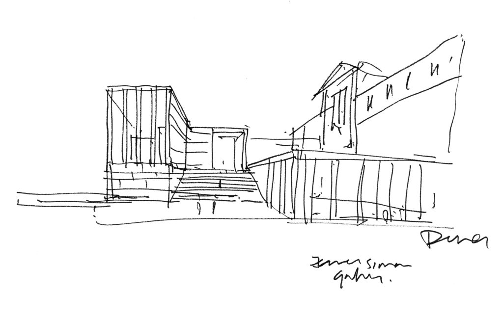 Jemes-Simon Galerie Berlijn David Chipperfield
