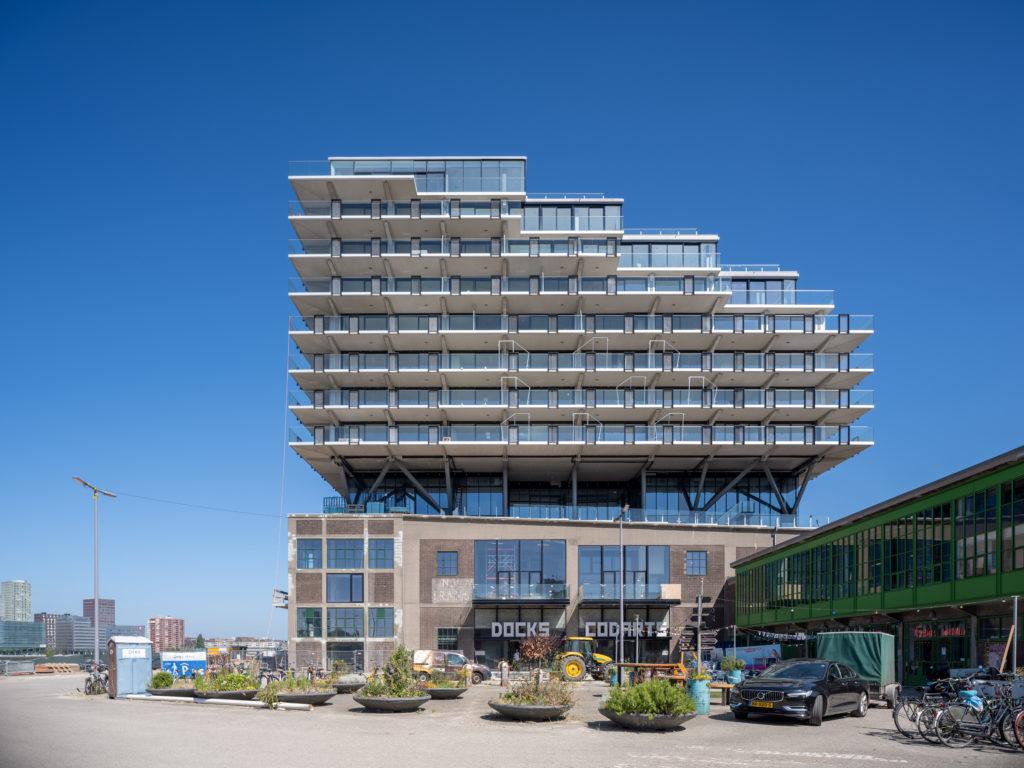 Fenix I Rotterdam door Mei Architects. Beeld Ossip van Duivenbode