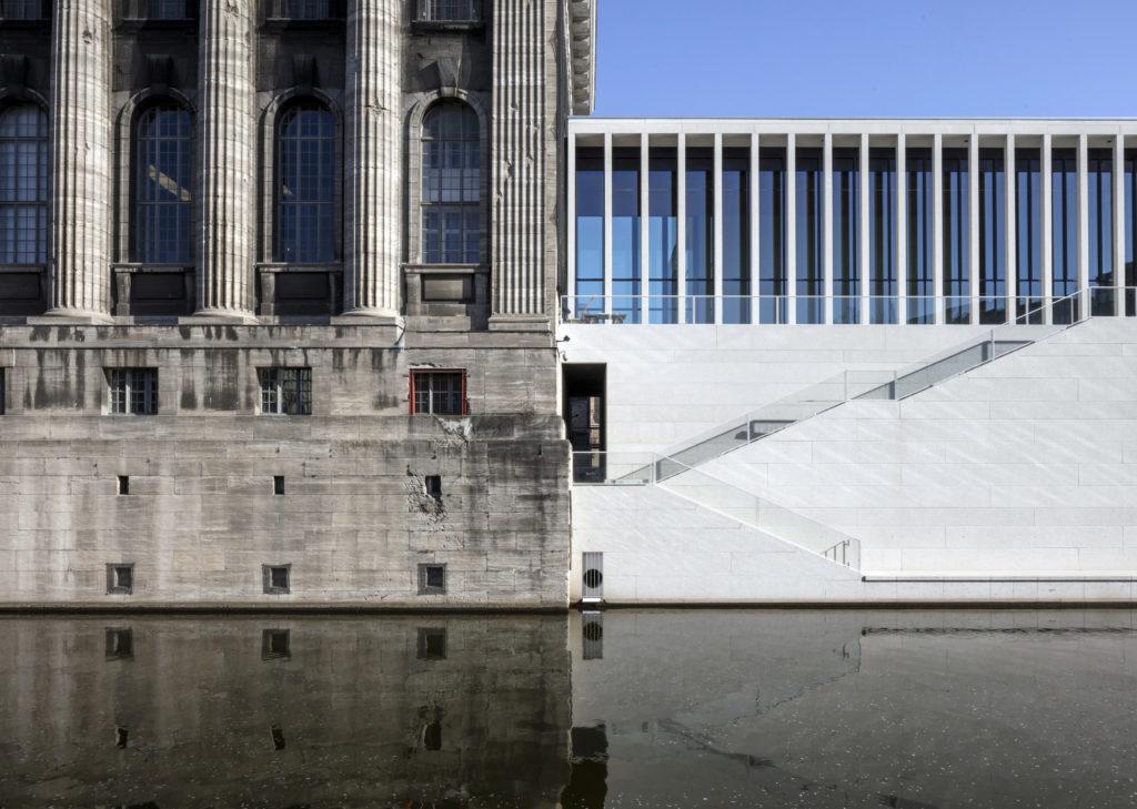 James-Simon-Galerie, Berlijn door David Chipperfield Architects Berlijn