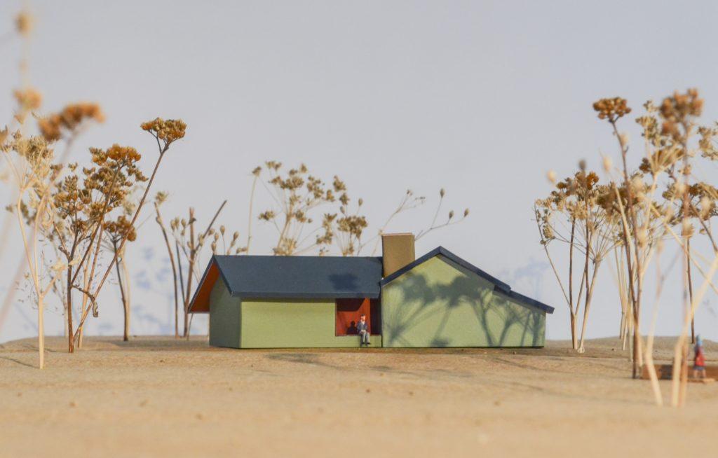 Vakantiehuis in Riel door Mato Architecten