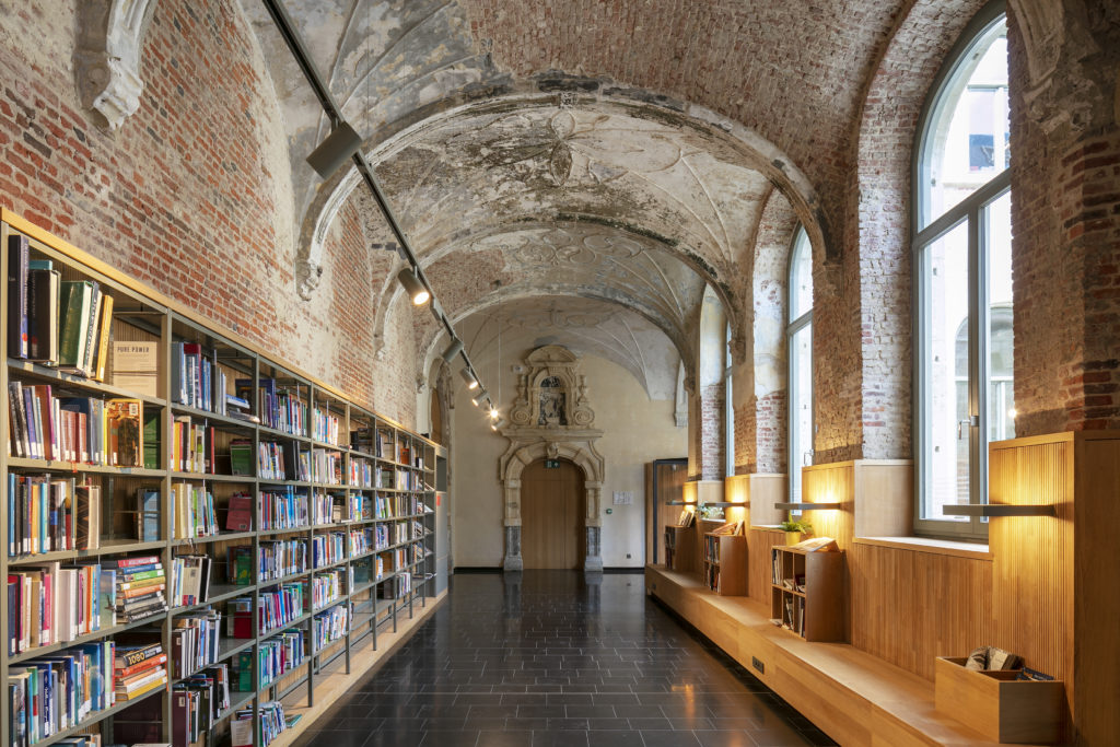 Predikherenklooster door Korteknie Stuhlmacher Architecten met Callebaut Architecten en Bureau Bouwtechniek. Beeld Luuk Kramer