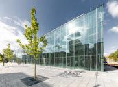 Opening Bauhaus Museum Dessau door addenda architects