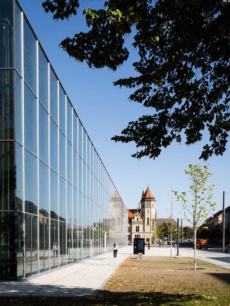 Bauhaus Museum Dessau door addenda architects. Beeld Thomas Meyer/OSTKREUZ