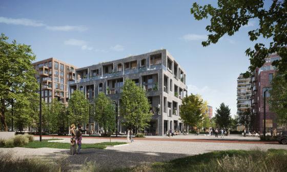 Team Barcode Architects en Karres en Brands maken winnend ontwerp Weezenlanden Noord Zwolle