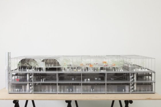 BAUKUNST wint ontwerpwedstrijd MANUFAKTURE op Brusselse Abattoir-site