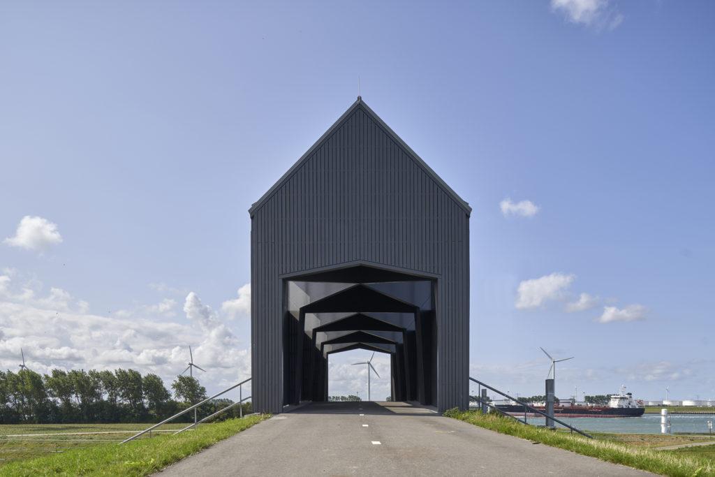 Ruiterbrug Hoek van Holland door Happel Cornelisse Verhoeven. Beeld René de Wit