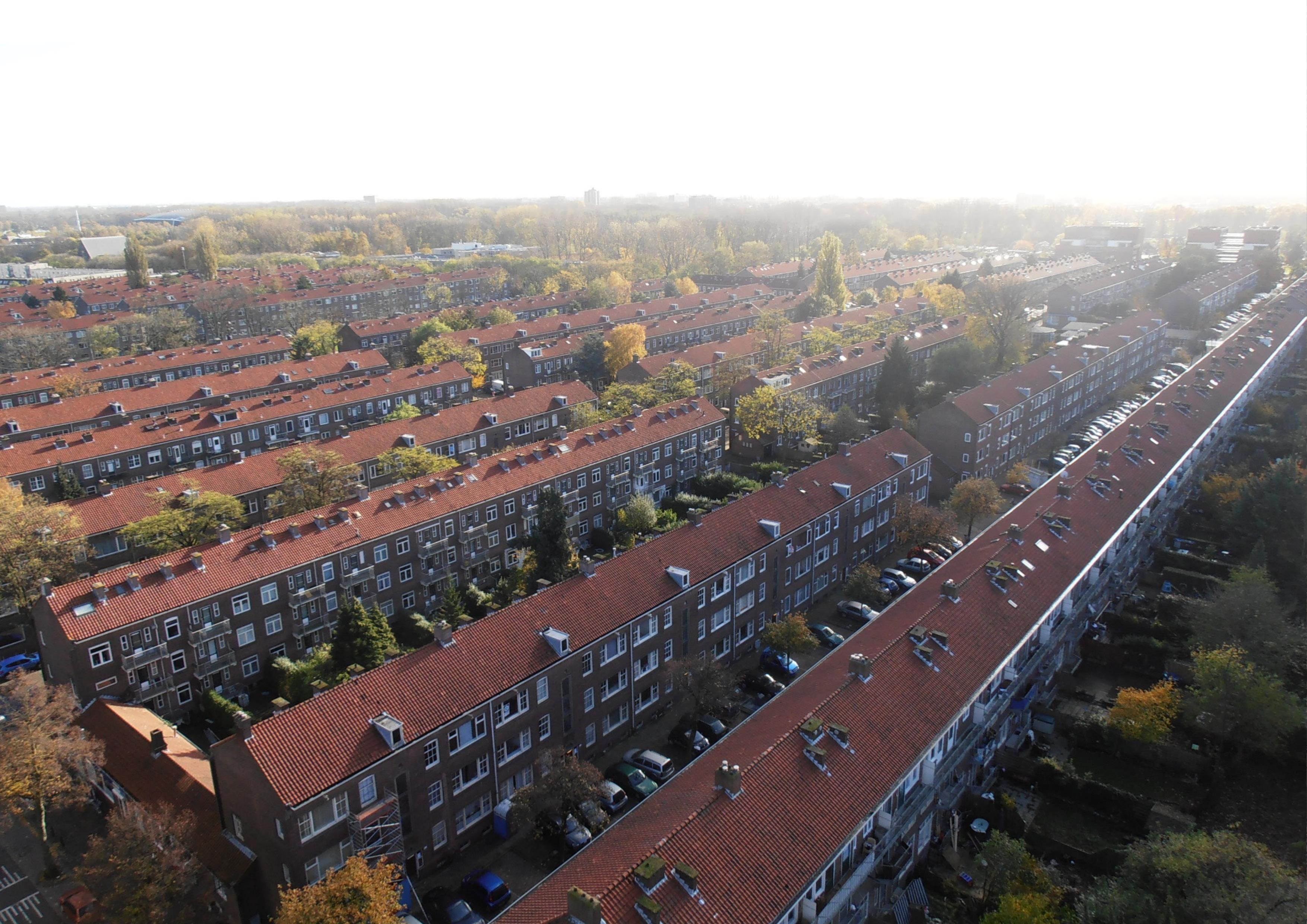 <p>wijk luchtfoto &#8211; carnisse, rotterdam</p>