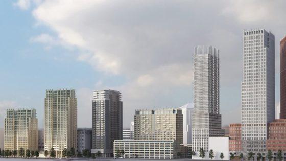 Haagse oppositie wil toch huurwoningen in torens naast cultuurcomplex