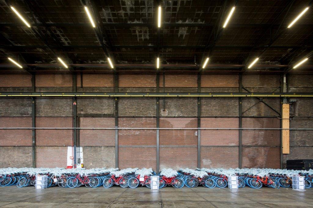 <p>Patchwork wanden &#8211; Beeld Lucas van der Wee</p>