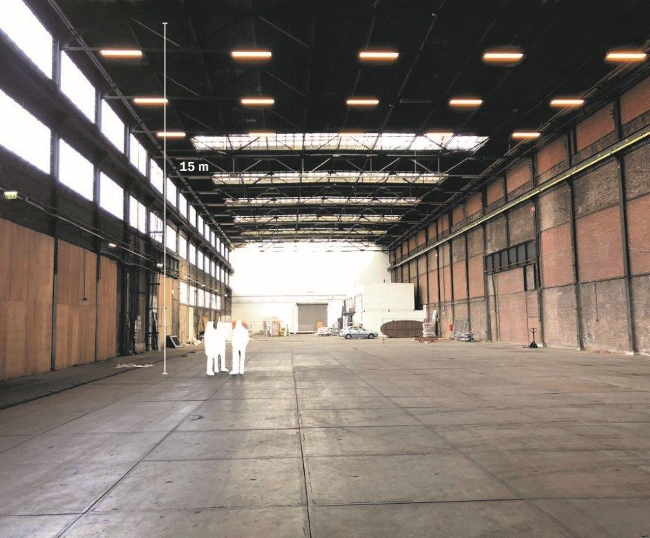 <p>Grote Hallen.  Beeld Lucas van der Wee</p>