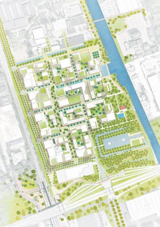 <p>Voorbeelduitwerking stedenbouwkundig plan</p>