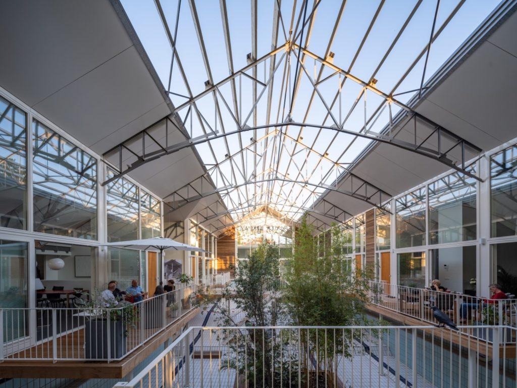 Spaardersbad Gouda door Mei architects and planners. Beeld Ossip van Duivenbode