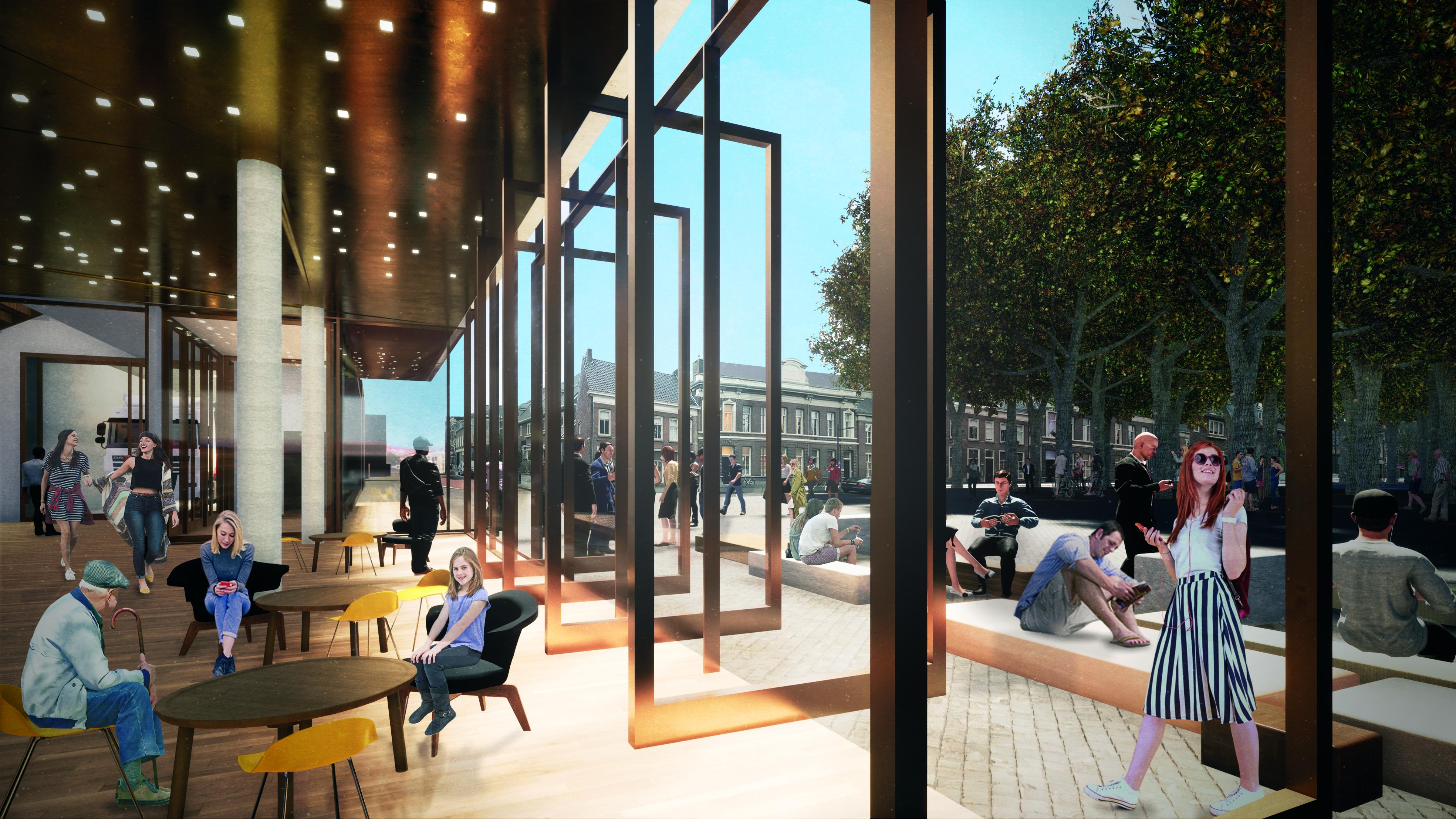 <p>Interieur cafe-entree. Theater aan de Parade door NOAHH   Network Oriented Architecture</p>