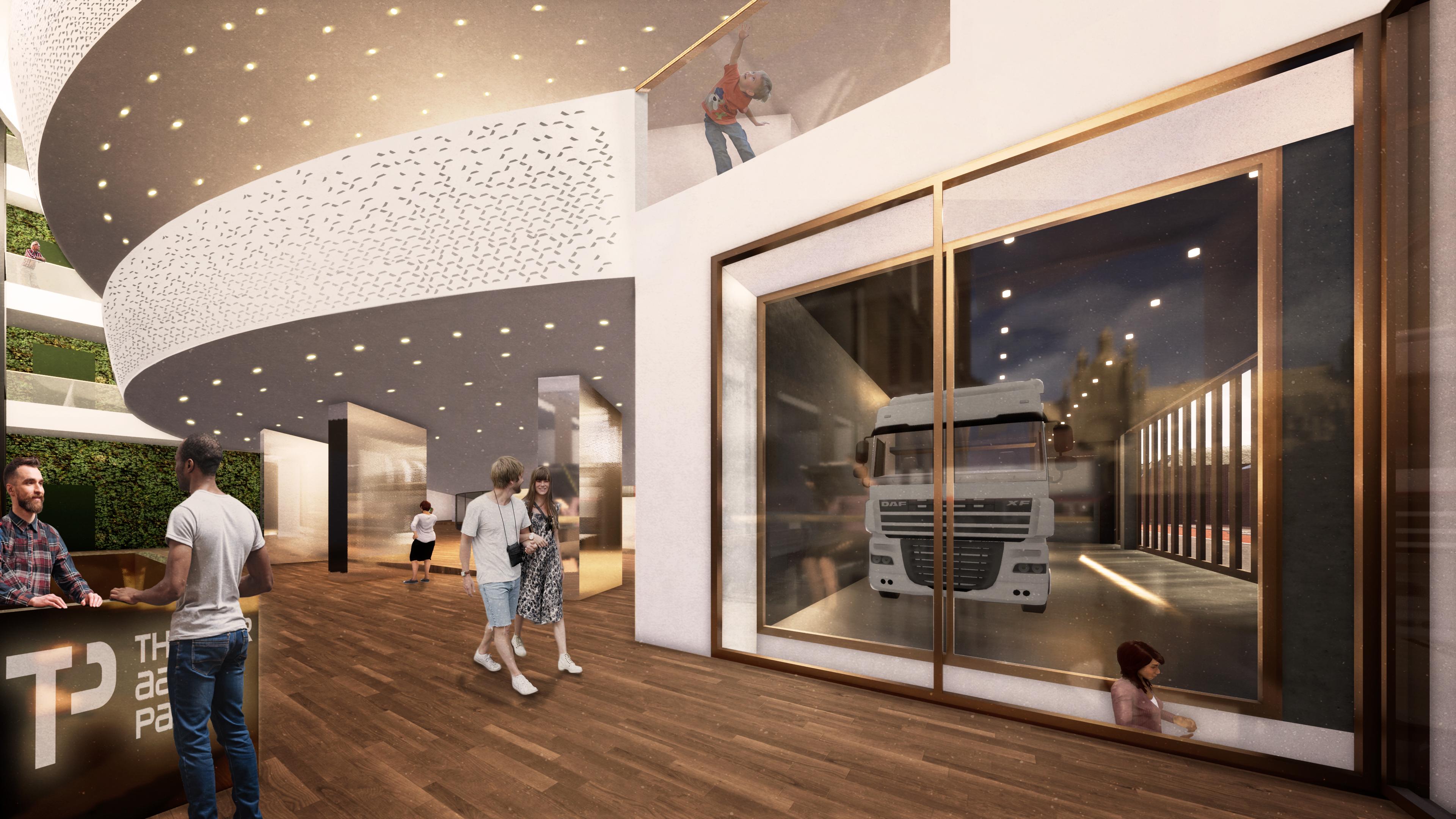 <p>Interieur entree-bali. Theater aan de Parade door NOAHH | Network Oriented Architecture</p>